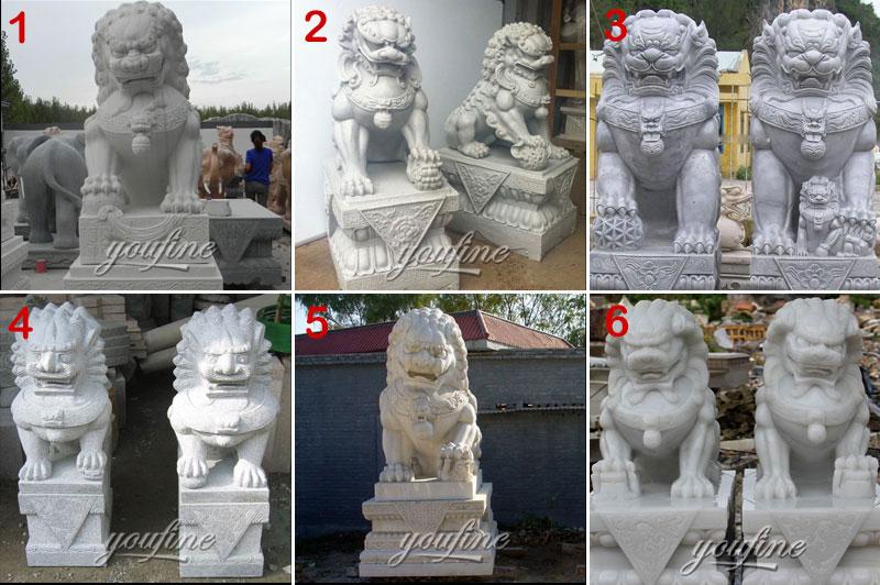 Chinese Fu dog statue