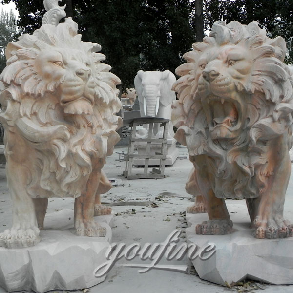 Marble Stone Lion Statuesfoo Dog Statues Lion Statues