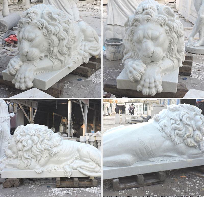 Huge lion statue