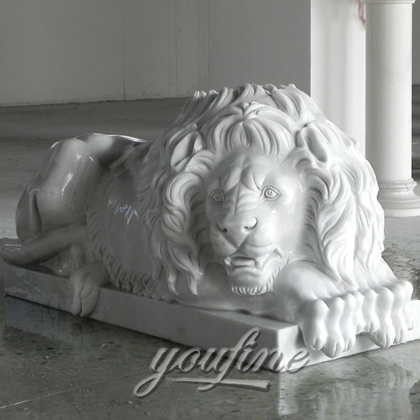 Outdoor Large lion statue lucerne for outside house