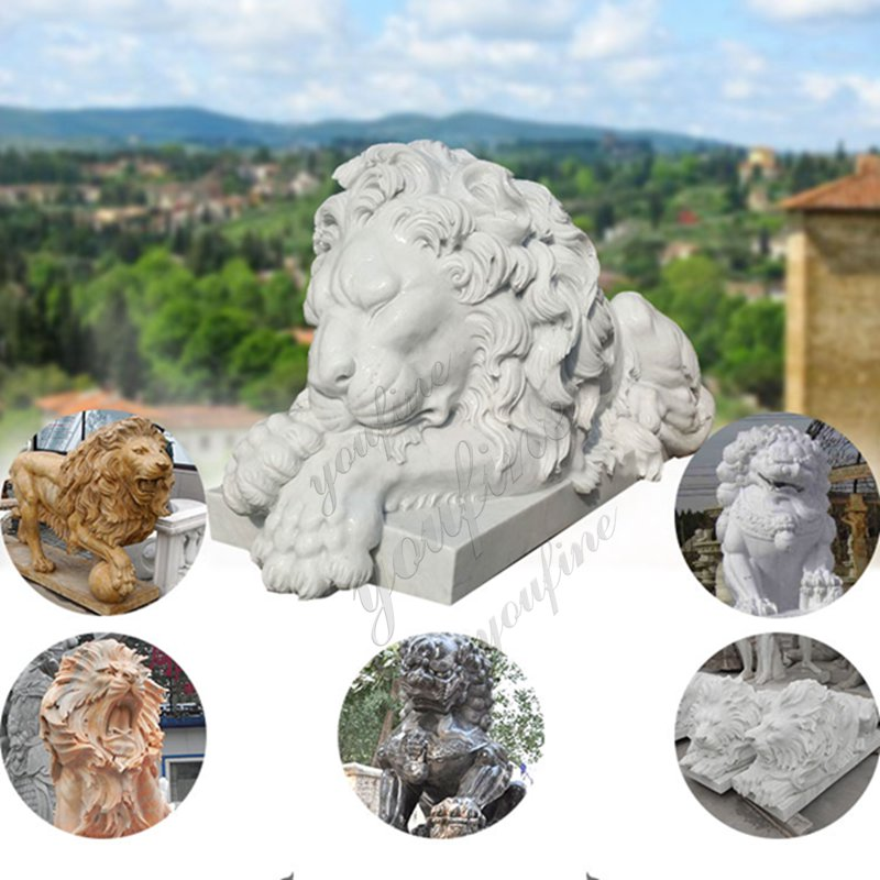 Black Marble Lion Statue other designs