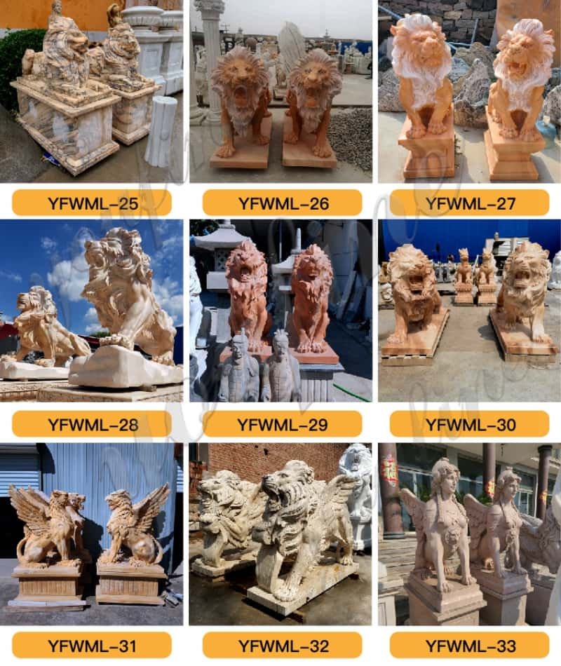 marble lion statue price