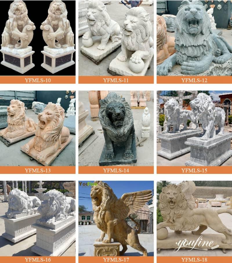 lion statue home decor (2)