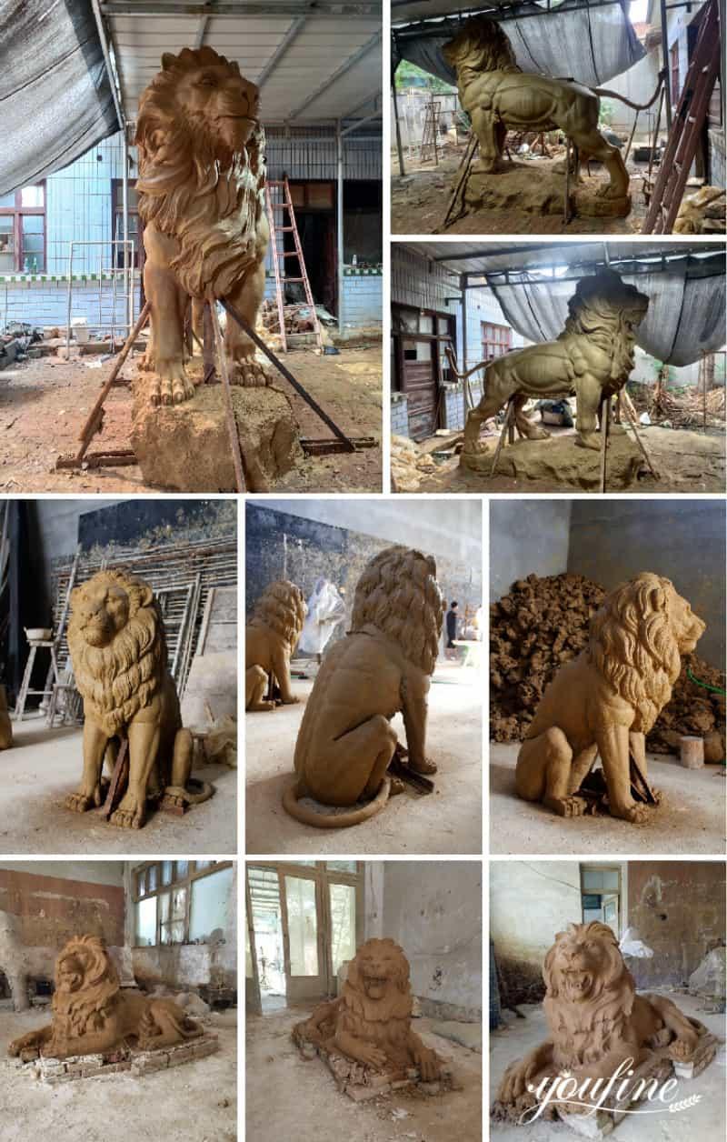 marble lion statue (1)